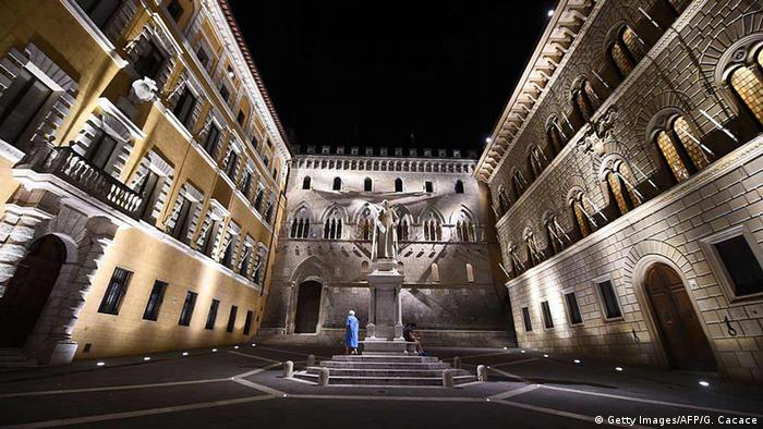 Italien Monte dei Paschi di Siena Bank (Getty Images/AFP/G. Cacace)