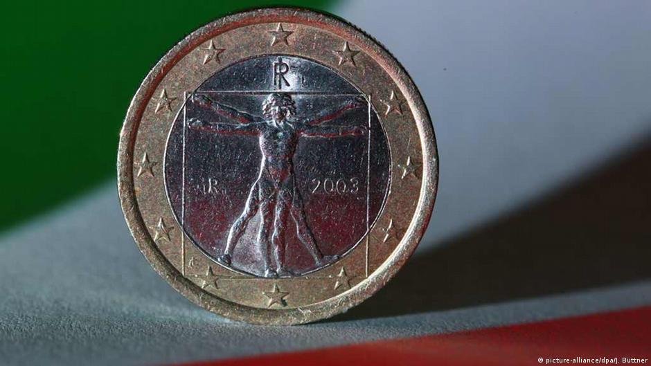 Italien Italienische Euro-Geldmünze