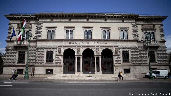 Italien Italienischen Bank Banca d'Italia