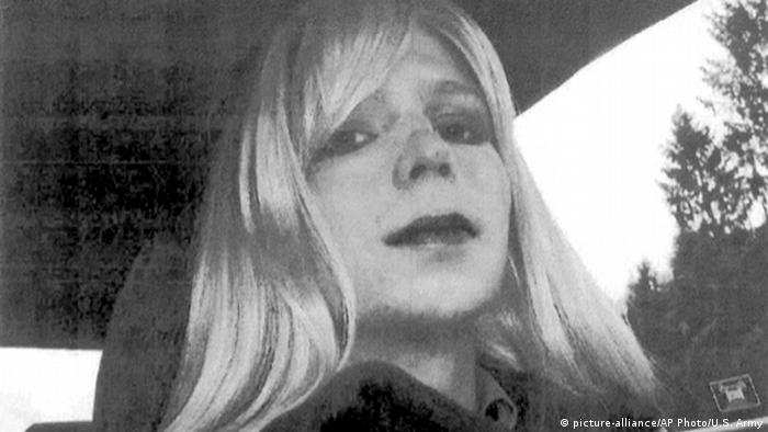 USA Chelsea Manning Transgender Soldat (picture-alliance/AP Photo/U.S. Army)