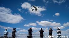 Großbritannien Flugschau Farnborough