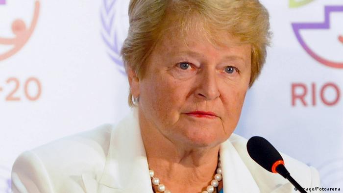 Norwegen Gro Harlem Brundtland