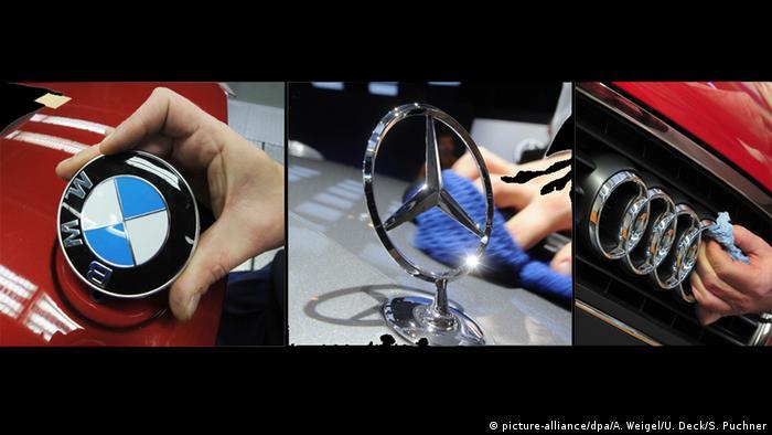 Kombi Logos BMW Daimler Audi