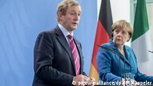 Angela Merkel und Enda Kenny