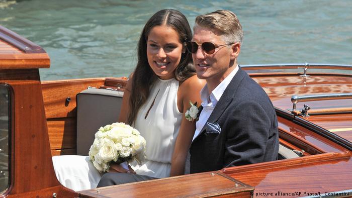 Italien Bastian Schweinsteiger und Ana Ivanovic heiraten in Venedig