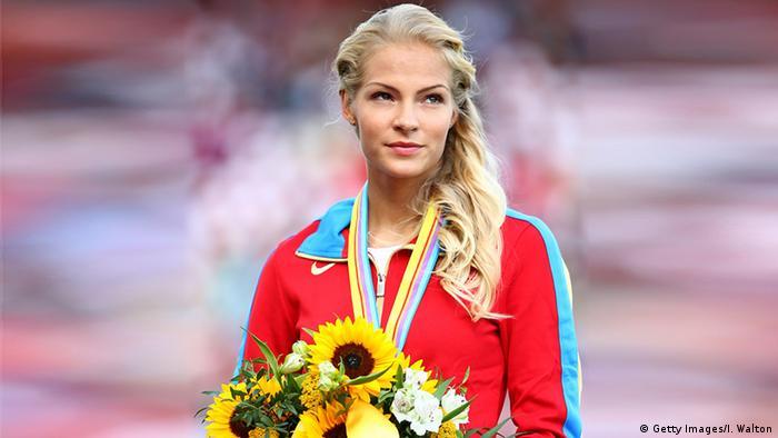 Russland Darya Klishina