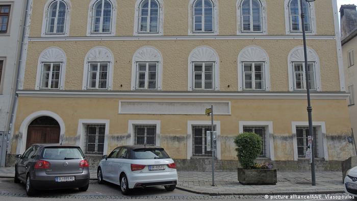Österreich Hitler-Haus in Braunau am Inn