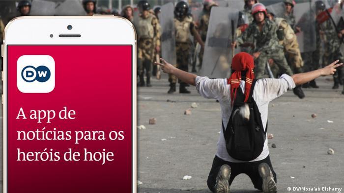 DW News App em Português para África - aplicação / aplicativo para telemóveis e celulares