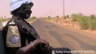 Mali Unruhen Polizei