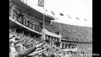 Opening of the 1936 Olympic Games in Berlin, Copyright: picture-alliance/Schirner Sportfoto