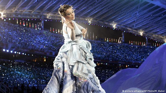 Церемония открытия Олимпиады в 2004 году