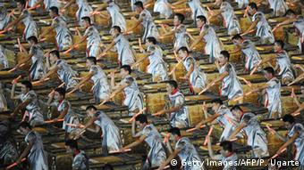 As beautiful as Beijing's 2,008 drummers were, the show didn't express the Olympic idea, says Lämmer