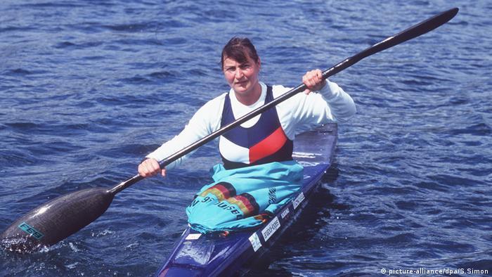 Birgit Fischer ganó ocho medallas de oro en Juegos Olímpicos.