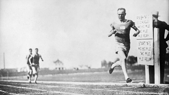 USA Dallas Läufer Paavo Nurmi