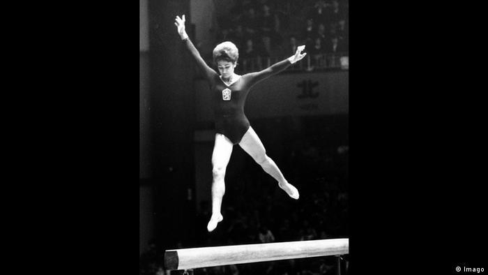 Larissa Latynina Turnerin Leichtathletik