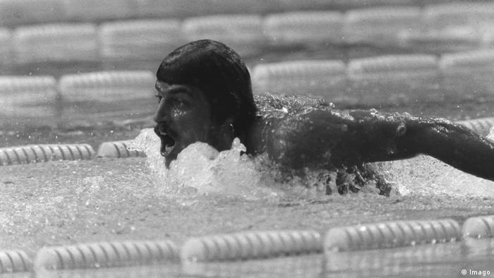 Schwimmer Mark Spitz Olympia 1972 in München