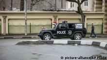 Ägypten Kairo Sicherheitskräfte