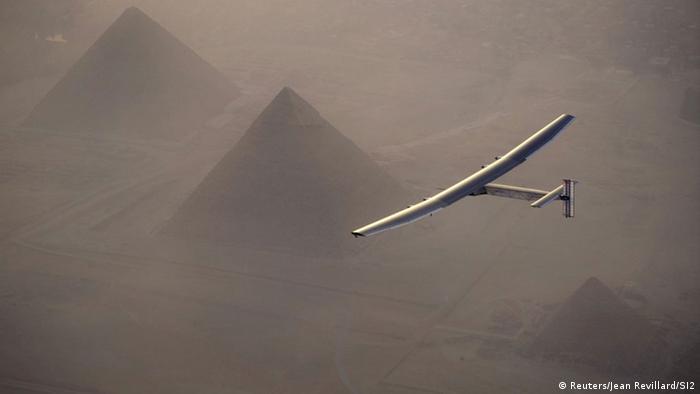 Ägypten Solar Impulse 2