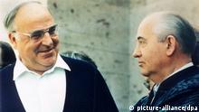 Helmut Kohl zu Arbeitsbesuch im Kaukasus