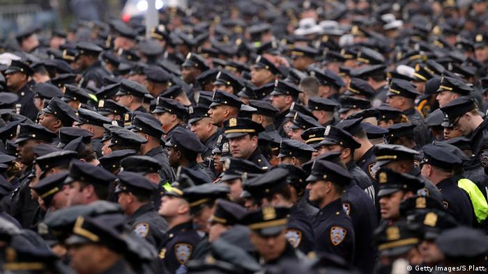 Polizeigewalt in den USA (Getty Images/S.Platt)