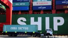 China Containerhafen (Getty Images/AFP)