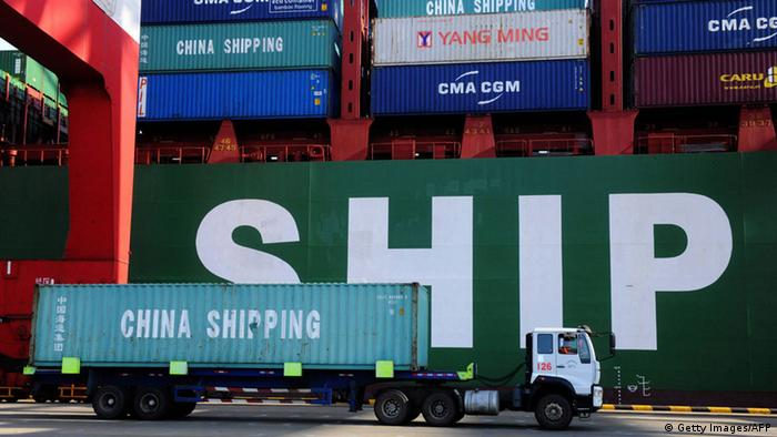 Chinese container port (Getty Images/AFP)