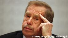 Deutschland Vaclav Havel in Berlin