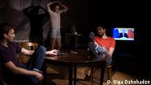 Das Schauspiel Jung und erbosen in Teatr.doc Copyright: Giga Dzhohadze