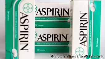 Cajas de aspirina.