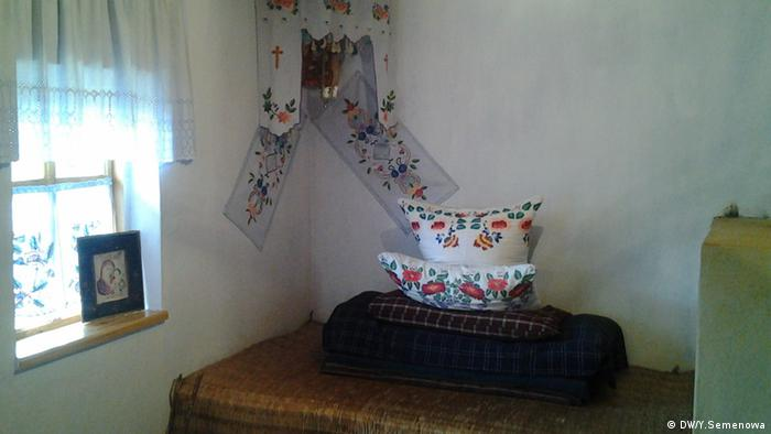 Красный угол в гагаузском доме