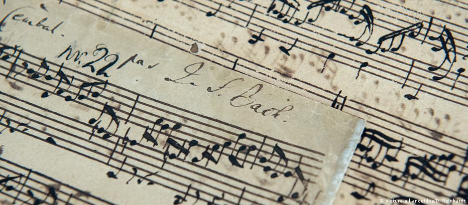 Manuscrito de Bach foi leiloado em Londres