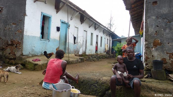 São Tomé und Príncipe Plantage Sundy auf der Insel Príncipe