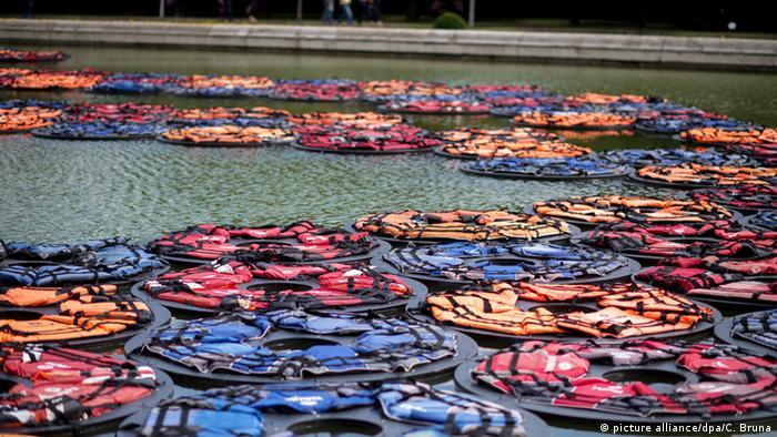 Ausstellung von Ai Weiwei im Park des Wiener Belvedere. (c) dpa - Bildfunk+++ Copyright: picture alliance/dpa/C. Bruna