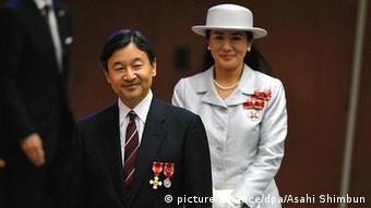 Japan Kronprinz Naruhito Prinzessin Masako