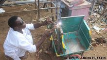 Nigeria Polio Rollstühle