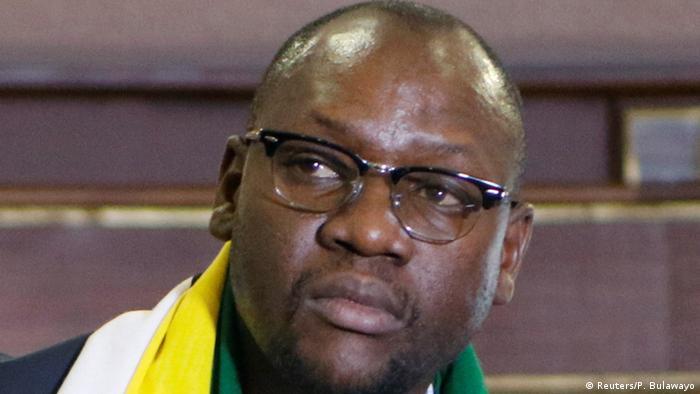 Simbabwe Pastor Evan Mawarire in Harare