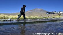 Bolivien Silala Fluss