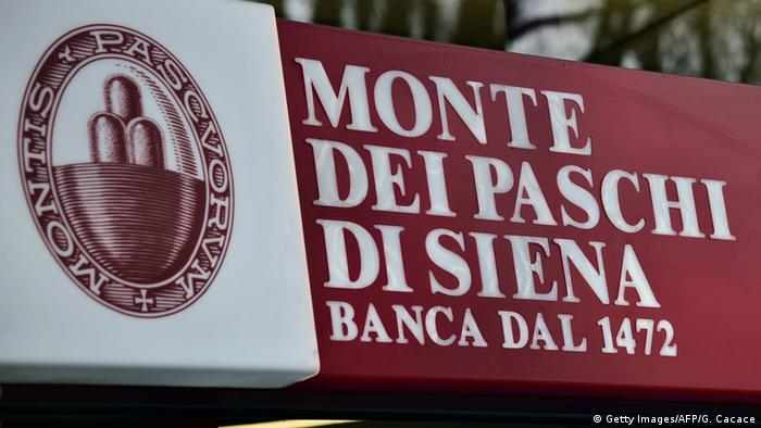 Italien Monte Dei Paschi di Siena Bank in Mailand (Getty Images/AFP/G. Cacace)