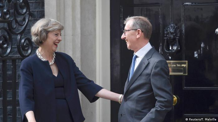 Großbritannien Theresa May Downing Street 10