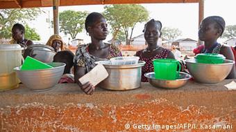 Südsudan Menschen fliehen aus Juba