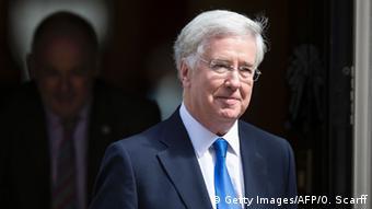 Großbritanien Kabinett May Michael Fallon