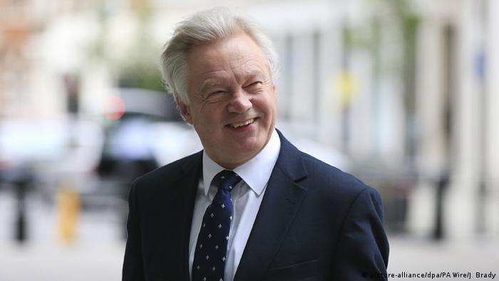 Großbritannien Kabinett David Davis