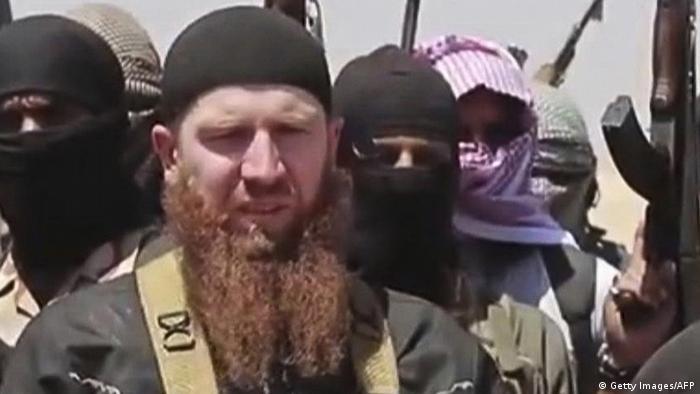 Irak Syrien Omar al-Shishani IS (Getty Images/AFP)