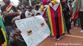 Simbabwe Aktivist Mawarire ist frei