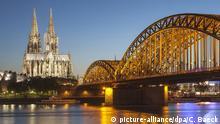 Kölner Dom Stadtansicht, Skyline