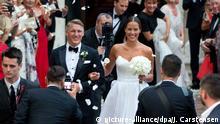 Italien Kirchliche Trauung Bastian Schweinsteiger und Ana Ivanovic