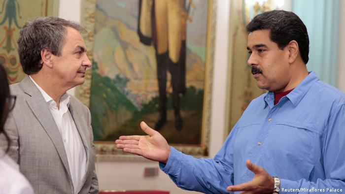 Venezuela Nicolas Maduro und Jose Luis Rodriguez Zapatero