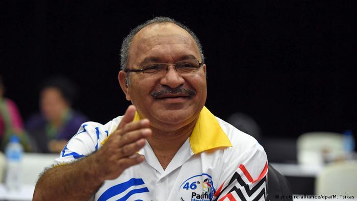 Премьер-министр Папуа-Новой Гвинеи Питер О´Нилл.