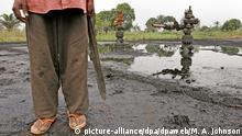 Nigeria Ölverschmutzung Öl Ogoniland