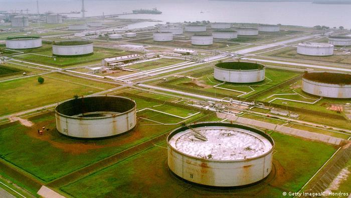 Nigeria Niger Delta Ölverschmutzung Öl
